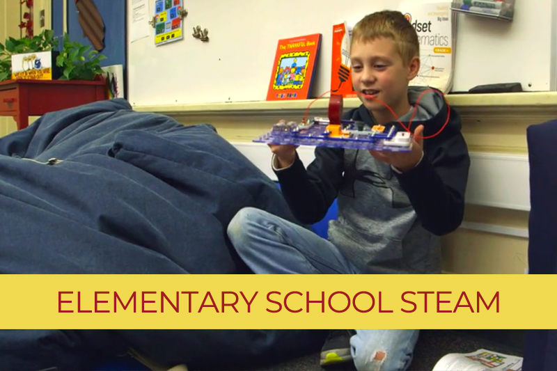 Elementary School - STEAM (Science, Technology, Engineering, Arts, Math) Funded by Give BIG!