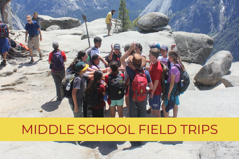 Middle School - Field Trips Funded by Give BIG!