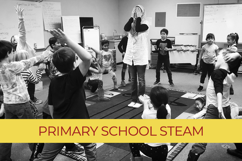 Primary School - STEAM (Science, Technology, Engineering, Arts, Math) Funded by Give BIG!